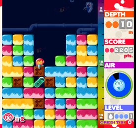 Mr Driller game screenshot